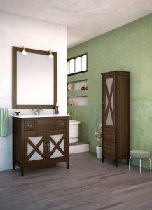 mueble baño cruceta 80