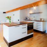cocina con isla integrada